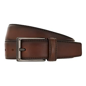 MIGUEL BELLIDO Belt Lord Belt Leather Belt Brown 7998