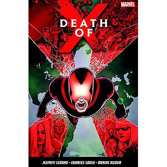Death Of X by Jeff Lemire - 9781846537790 Book
