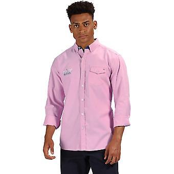 Regatta Mens Benan Long Sleeve Button Up Shirt