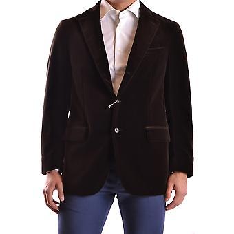 Cantarelli Ezbc290003 Men's Brown Velvet Blazer