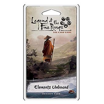 Legend of the Five Rings LCG Elements Unbound Dynasty Pack Card Game