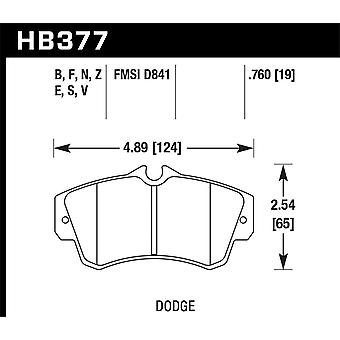 Hawk prestaties HB377F. 760 HPS