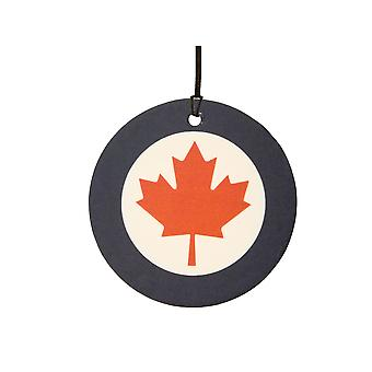 Real Fuerza aérea canadiense Canadá Roundel ambientador de aire