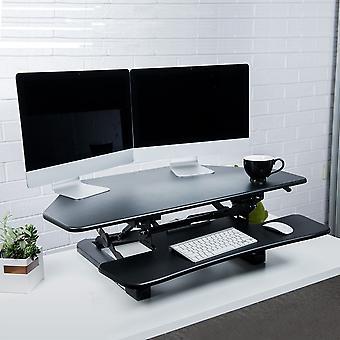 Flexispot M4B Stehpult - 41 Zoll Cubicles Corner Desk Riser Computer Riser