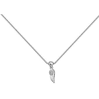 Bella Angel Wing Anklet - Silver