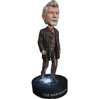 Doctor Who the War Doctor con Light Base Bobble Head