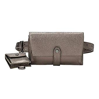 Liebeskind Berlin Bond Bag - Belt Bag Woman Silver Crossbody Bag (Warm Silver) 2x10x43 centimeters (B x H x T)