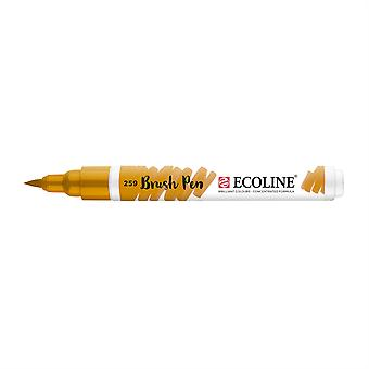Talens Ecoline Liquid Watercolour Brush Pen - 259 Sand Yellow