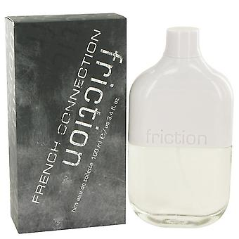 Fcuk friction eau de toilette spray by french connection 490722 100 ml