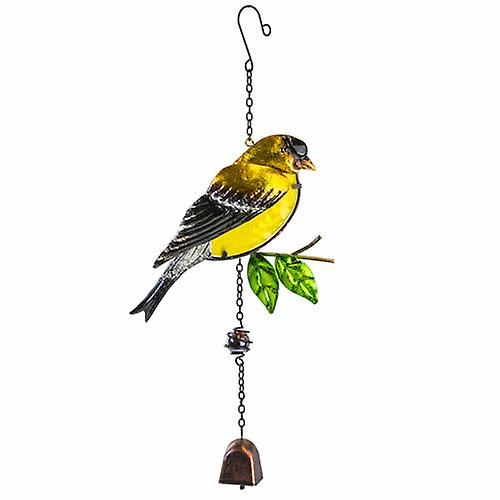 Goldfinch Garden Bell Hanging