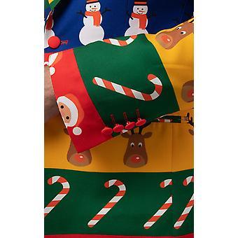 d/szprychy mężczyźni wielokolorowy świąteczny papier do pakowania 2 częściowy świąteczny garnitur