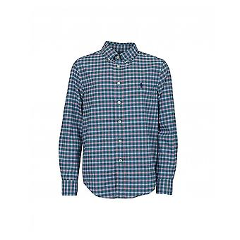 Polo Ralph Lauren Childrenswear Small Grid Checked Shirt