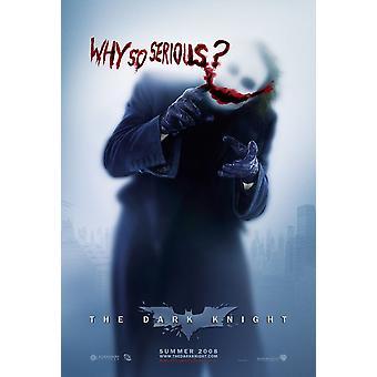 The Dark Knight (Double Sided Advance Style B) Original Cinema Poster