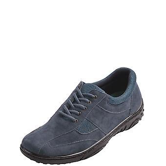 Cushion Walk Mens Cushion Walk Lace Travel Shoe With Gel Pad