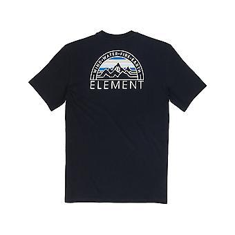 Elemento Odyssey manga curta T-shirt em Flint Black