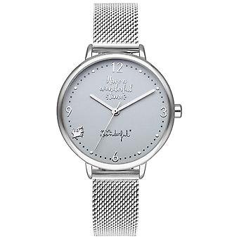 Mr wonderful shine and smile Watch for Women Analog Quartz with Stainless Steel Bracelet WR10200
