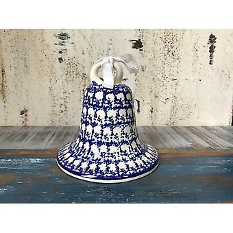 Campana grande, antica, vecchia ceramica Bunzlauer con crepe smalto possibilmente