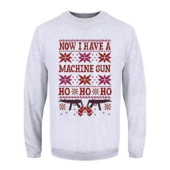 Grindstore Mens Now I Have A Machine Gun Christmas Jumper