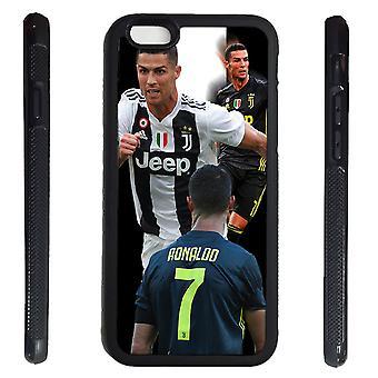iPhone 6 6s Shell Ronaldo Gummischale 7 Juventus & Portugal