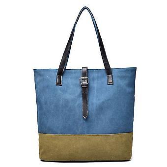 2Tone single shoulder canvas bag