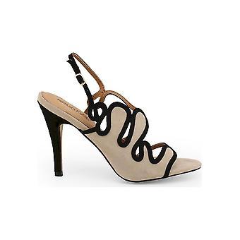 Arnaldo Toscani - Shoes - Sandal - 1218025_BEIGE-NERO - Women - tan,black - EU 38