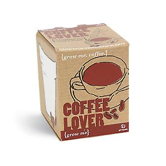 Pflanz Set Kaffee Coffee Lover Kaffeepflanze Samen 4-teilig Grow me Box