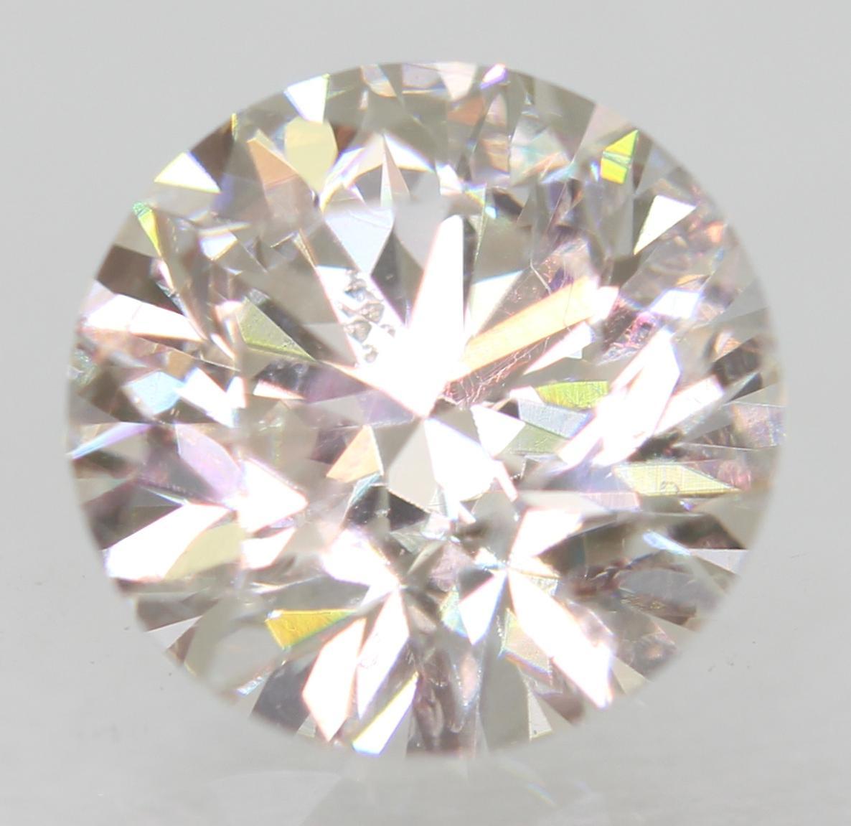 Certified 1.00 Carat G VS1 Round Brilliant Enhanced Natural Loose Diamond 6.32mm