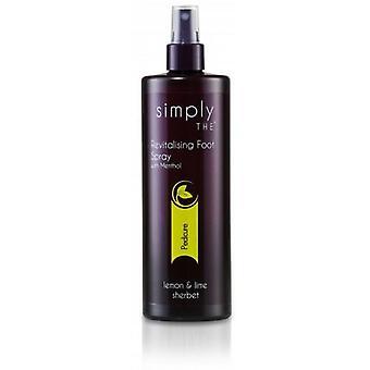 Simply revitalising foot spray 490ml