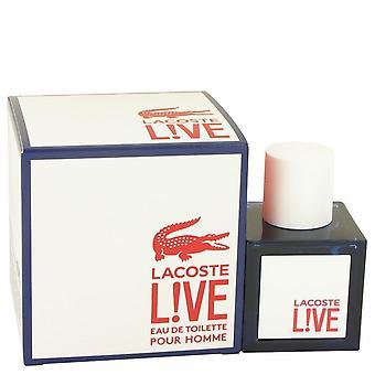 Lacoste live eau de toilette spray by lacoste 533289 38 ml