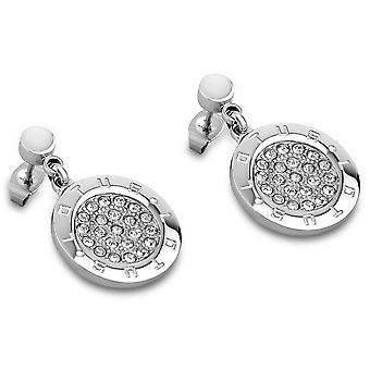 Earrings privileges LS1751-4-1 - earrings Crystal plate embossing woman
