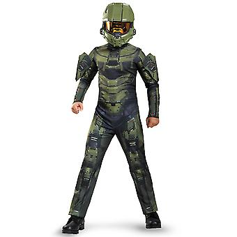 Master Chief Halo Classic Army Video Games Licensed Tween Boys Costume XL
