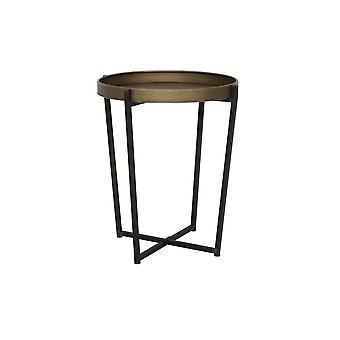 Light & Living Side Table 65.5x74.5cm Tortola Bronze