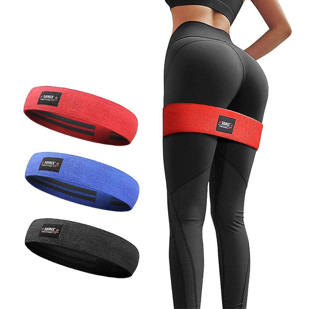 Hip Resistance Bands Booty Leg Exercise Elastic For Gym Yoga Stretching Training Fitness Workout