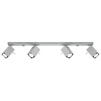 Sollux MERIDA 4 Light Spotlight Bar Grey SL.0461