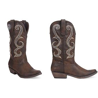 American Rag kvinner Dawnn spiss tå mid-kalv cowboy støvler