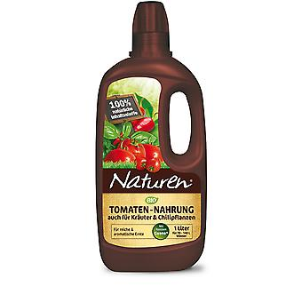 SUBSTRAL® Natural® Tomatoes & Herbs Food Organic, 1 litre