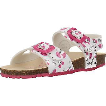 Garvalin Sandals 202666 White Color
