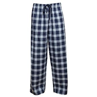 Cyberjammies 6451 Mænd's Billy Blue Check Bomuld Vævet Pyjamas Pant