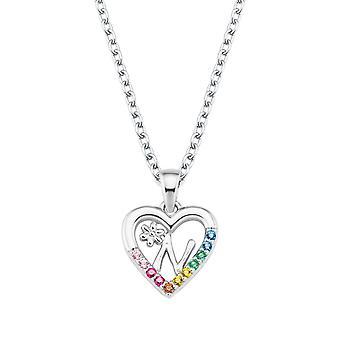 Princess Lillifee Kids Necklace Silver Letter Necklace N Girls 2027887