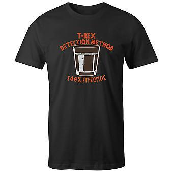 Boys Crew Neck Tee Short Sleeve Men's T Shirt- T-Rex Detection Method - 100% Effective