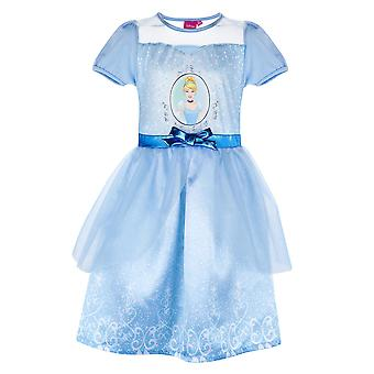 Disney princess girls fancy dress light blue