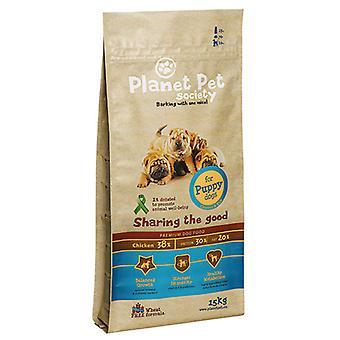 Planet Pet Pienso para Puppy de Pollo y Arroz (Dogs , Dog Food , Dry Food)