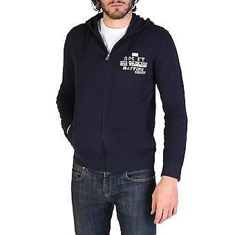 Napapijri Original Men All Year Sweatshirt - Blue Color 34246
