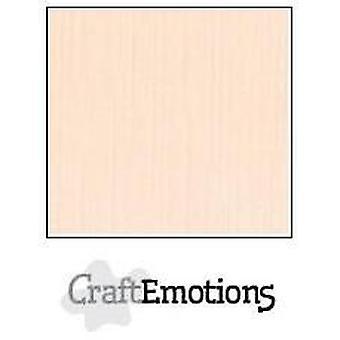 CraftEmotions linnen karton 10 Sh crème 27x13,5cm 250gr / LHC-17