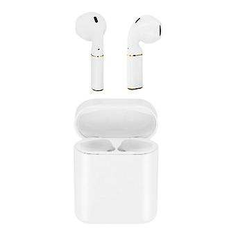 Bluetooth Earbuds and Charging Case Touch Control 3H Battery Life- White