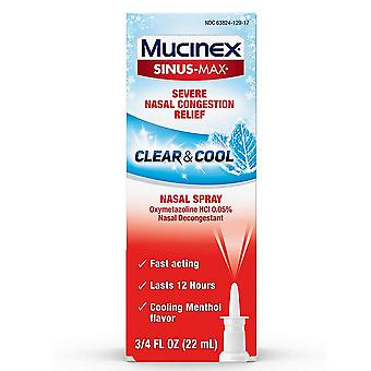 Mucinex sinus-max full force nasal spray, 12 hours, 0.75 oz