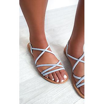 IKRUSH Womens Millie Strappy Flat Sandals