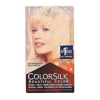 Fargestoff Ingen Ammoniakk Colorsilk Revlon Ultra lys naturlig blonde