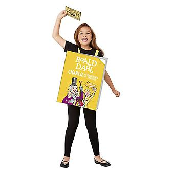Childrens Charlie & the Chocolate Factory Fancy Dress Kostuum (One Size)