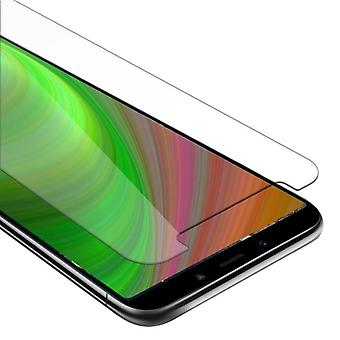 Cadorabo Tank Foil for Xiaomi Mi A2 / 6X - Protective Film in KRISTALL KLAR - Tempered Display Protective Glass in 9H Hardness with 3D Touch Compatibility